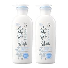 1+1 [Ryo] Mild Derma Shampoo(Oily) 400mlx2ea