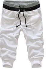 2017 summer cropped trousers casual pants men men  s slacks Short Sport baggy pants