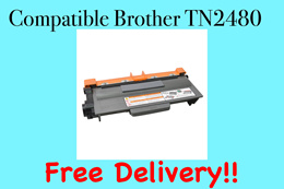 (SG Sales!) Compatible Brother Printer Toner Cartridge TN-2480! *High Yield* FREE SHIPPING!