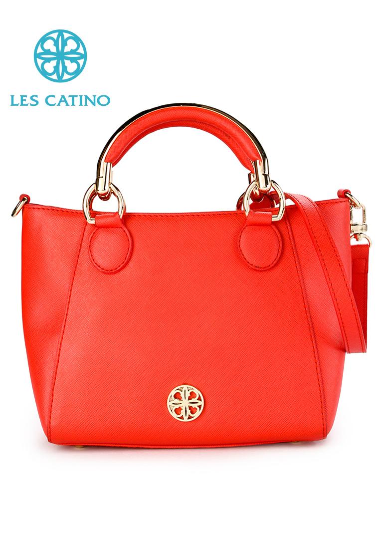 Qoo10 Les Catino Womens Bag Amaury Satchel S Grenadine Davina Croosbody Garnet Show All Item Images