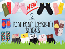 *NEW ARR* NEW YEAR NEW SOCKS★Buy6+1Free★양말T92 KoreanDesignSocks Women/Men/Basic/Sleeping/Baby/Bamboo
