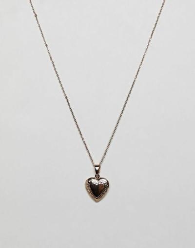 c35c1433c6 Qoo10 - Liars & Lovers gold heart locket pendant necklace : Watch ...