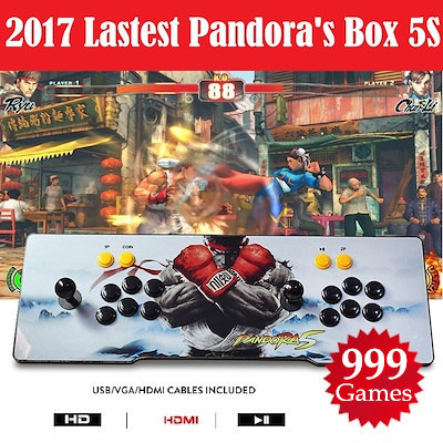 Pandora Box 4S / 5S Arcade Game Console 800 / 999 Games Jamma Plug and Play in TV