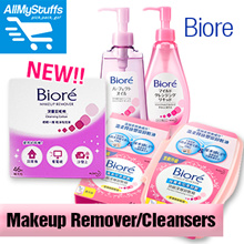 【Biore】Makeup Remover Facial Cleansing Cotton 44 Sheets/ 46 Sheets Refill ● Cleansing Oil