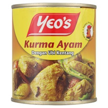 [ Halal Certification ] Yeo s Kurma Chicken with Potatoes 285g