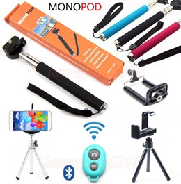 ★SG Seller★Xmas Christmas Gift Present★ Selfie Monopod Stick Bracket Holder/ASHUTB AB Bluetooth Wireless Remote Shutter Control/Tripod/3-In-1 Clip On Camera Lens for Samsung S5 S4 Note 2 3 iPhone 4 5