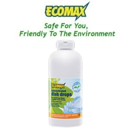 Ecomax Concentrated Dish Drops (600ml)
