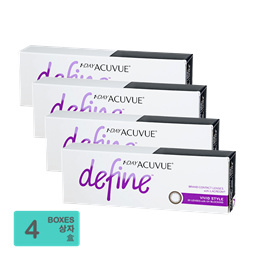 [Free Shipping] Johnson and Johnson 1-Day Acuvue Define Vivid Style (30pcs/box) x4