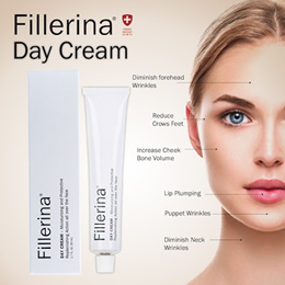 Fillerina Grade 3 Day Cream 50ml / Night Cream 50ml / Eye and Lip Contour Cream 15ml SG Ready Stock