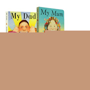 Original English cardboard book 6 picture book story audio my dad mum /goodnight moon /How Much I Lo