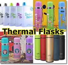 ★[Local Seller/Fast Delivery]★40 Over Designs of Thermal Vacuum Flask/Water Bottles/Glass Bottles