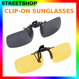59b16f1e4d High quality Clip-on Sunglasses Spectacle Frames  Driving Shades Polarized