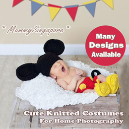 Cute Knitted costumes for home photography / baby photo taking / photoshoot