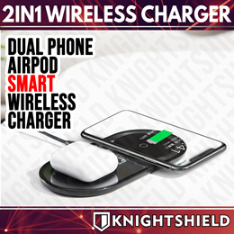 ★BASEUS 2-in-1 Qi Wireless Charger★Airpods 2 Wireless Charger★USB Wall Chargers★ Qualcomm 3.0★