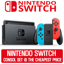 [Super Pre-Order Sale!] Nintendo Switch Console Super Bundle (Grey // Neon Red/Blue) ship to 12/10