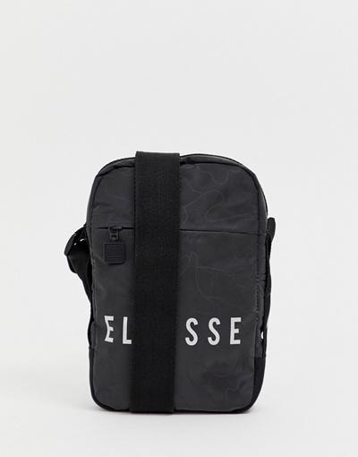 333ccf8c78 Qoo10 - Ellesse ellesse Mack Flight Bag With Reflective Logo In ...