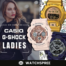 *CASIO GENUINE* G-SHOCK S SERIES FOR WOMEN. GMAS GMDS. Free Shipping!