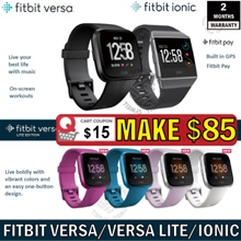 Fitbit Versa/Versa Lite/Ionic Watch Heart Rate + Activity Tracker(No Retail Package)