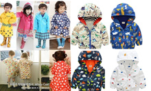 *RESTOCKED* - Korean Childrens Rain Coat / Children Windbreaker / Kids Rain Coat