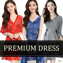 【April 24th update】2018 NEW KOREAN DRESS HIGH QUALITY  SUMMER SUIT OL /CHIFFON/Bohemia