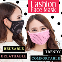✿Fashion Face Mask ✿Healthy Mask ✿Haze Mask ✿Flu Mask ✿ Washable|Reusable|Cotton|Fabric [SG seller]