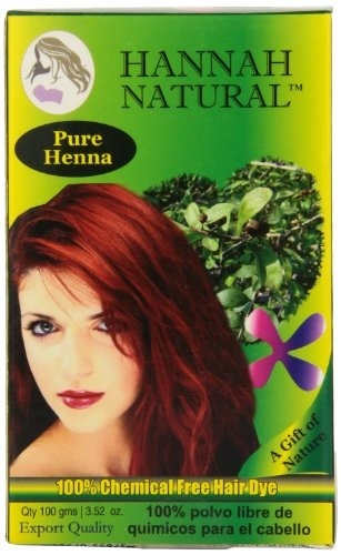 Hennah 100 Natural Pure Henna Powder For Hair Dye And Growth For
