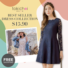 [Free Shipping] TOKICHOI - Best Seller - Dress and Jumpsuit Collection