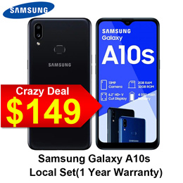 [Local set]Samsung Galaxy A10S 6.2inches Triple Camera A11 Android 10 32GB 1 Year Local Warranty