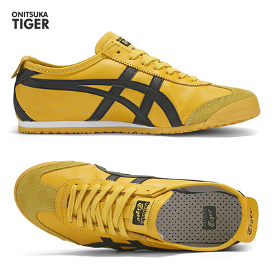 cheap for discount 24983 57492 (Ships in Korea) Onitsuka Tiger Mexico 66 Yellow Black DL408-0490