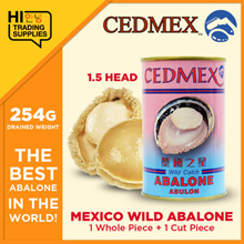 [CEDMEX] Mexico Wild Abalone 1H 1.5H 2H 2.5H (255G) [BEST ABALONE ] 100% Authentic
