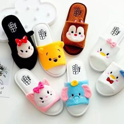 46697734d66e49 2018 Bedroom Slipper bathroom slippers Non-slip Cartoon slippers home  slippers