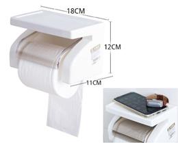 Waterproof Toilet Roll Holder /Toilet Paper Holder / Tissue Box Holder / Magnetic Fridge Organizer