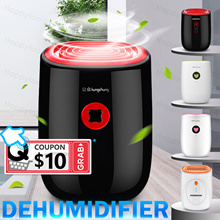 ⚡WEEKEND COUPON⚡MINI Dehumidifier Fully Automatic Electronic Mildew Killer Humidifier Quiet Room