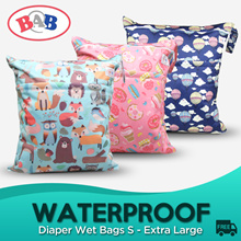 Baby waterproof diaper wet bag / swimming bag wetbag wetbags