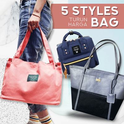 New Collection Korean Women Backpack / Handbag / Totebag Deals for only Rp59.000 instead of Rp59.000
