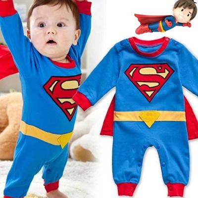 2d8072b6e Qoo10 - Newborn Baby Superman Bodysuit Romper Infant Boys Jumpsuit ...