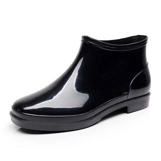 Qoo10 - Chef Shoes boots men short tube