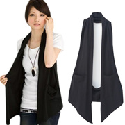 Qoo10 - Fashion Wanita Dua Sisi Cetak Pakai Lengan Kantong Jaket ... e468047313