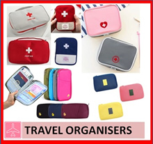 First Aid emergency travel multi-purpose cosmetic pouch bag travel organiser