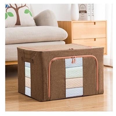 Dust Free 66L Storage Box Linen Brown (Ver2)