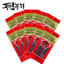[Jujubeori] Korean beef jerky 30g x 10 beef jerky
