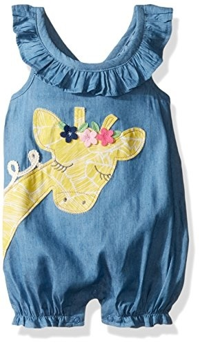 f03264930ed0  Shipping from USA Mud Pie Baby Girls One Piece Sleeveless Bubble Romper