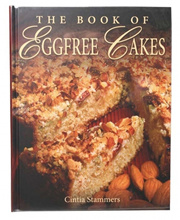 BOOK Book of Eggfree Cakes by Cintia Stammers