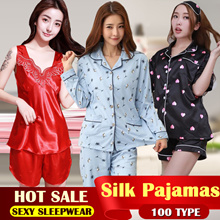 2018 Ladies sleepwear women pyjamas girl pajamas women Lingerie sexy sleepwear summer pajamas