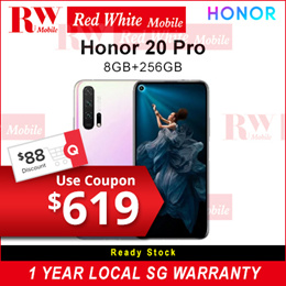 HONOR  20 Pro  | OFFICIAL 2 YEAR WARRANTY