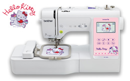 Brother NV180K - Hello Kitty 3-in-1 Sewing + Embroidery + Quilting Machine | SewingGuru.com