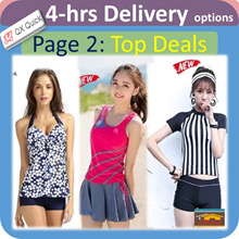 🇸🇬👙4-hrs delivery option👙[Page 2] SwimSuit Special Deals Sales! Women swim wear