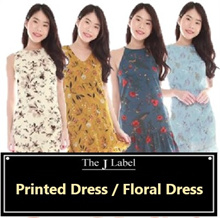 *THE J LABEL* FLORAL/ PRINTED DRESS