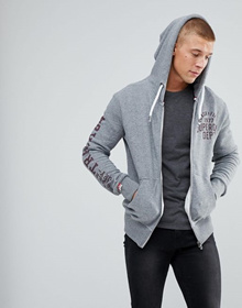 Superdry Zip Up Track Hoodie
