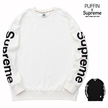 [Suprem Collection] Over Buffet men to men korean fashion sideline crew neck